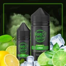 Nanos Juices Lemon 12 mg 30 ml - Bolo de Limão Refrescante