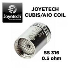 Bobina Ego Aio BFSS316 0.5 ohm / Cubis Original Joyetech - Unidade